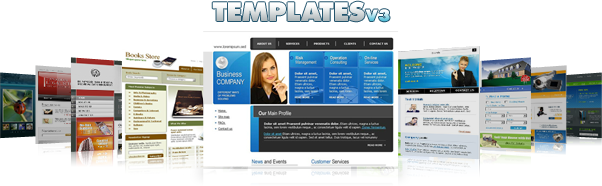 Professionally Designed Website Templates