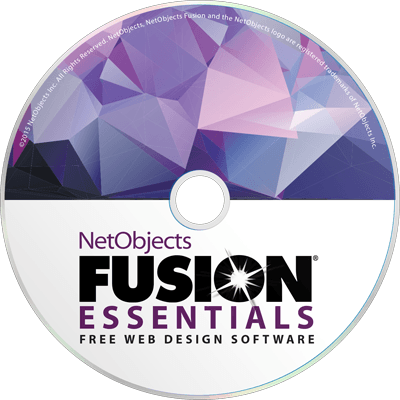 Free Website Design Software Netobjects Fusion Essentials