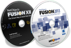 Supported software - NetObjects Fusion XII and 2013