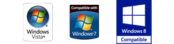 NetObjects Fusion 2013 is compatible with Windows Vista, Windows 7 and Windows 8