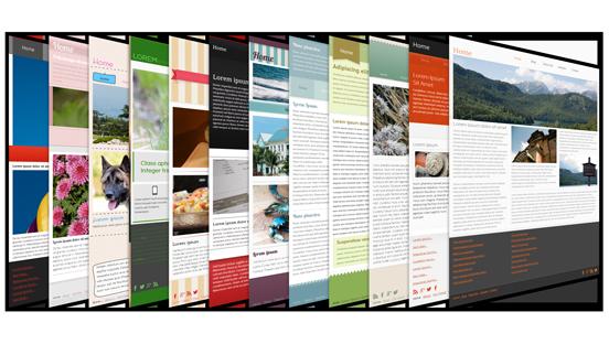 Fantastische neue Vorlagen, SiteStyles und vieles mehr.
