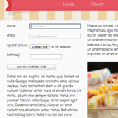 HTML5 File Upload in Ice Cream Template